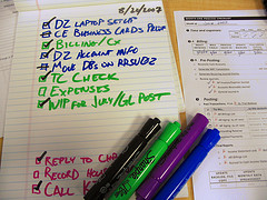 Task List | Source: J Dueck on Flickr