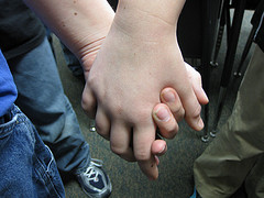 Holding Hands | Source: katerha on Flickr